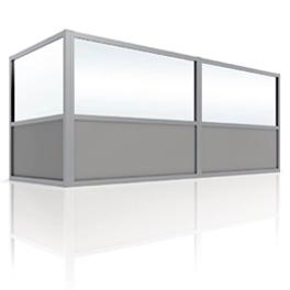 glazen windschermen terras